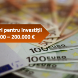 Măsura 3 Granturi pentru investiții 50.000 euro – 200.000 euro