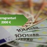 Măsura 1 granturi de 2000 euro pentru SRL, PFA, CMI, ONG